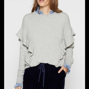 Joie Agnia Ruffled Sweater